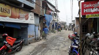 Shanty in Indonesia (Photo: DW)