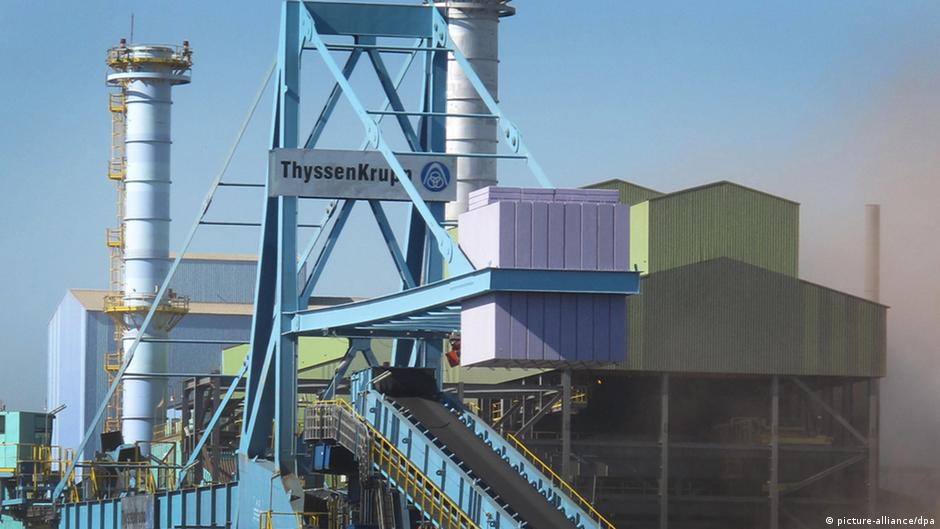 ThyssenKrupp Stahlwerk in Brasilien