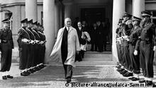 Deutschland Westalliierte Konrad Adenauer auf dem Petersberg 1949