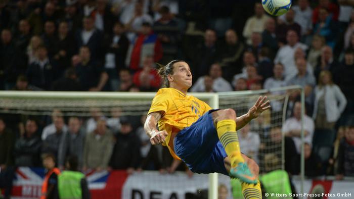 Tor Zlatan Ibrahimovic Fußball Testspiel Schweden vs. England