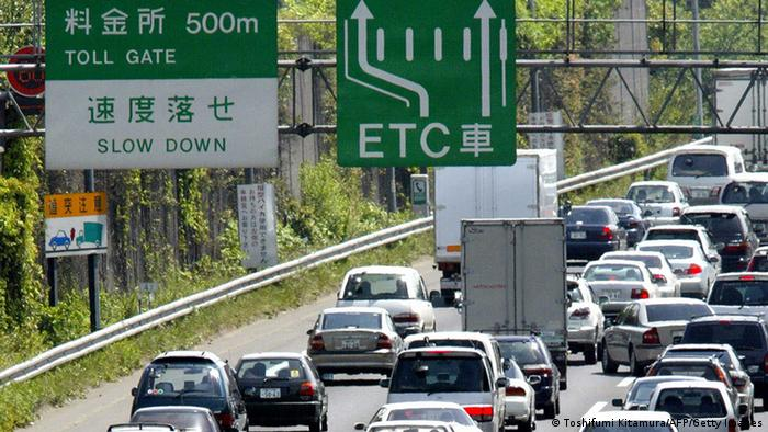 Autobahn in Japan