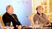 Russland Angela Merkel deutsch-russische Regierungskonsultationen (picture-alliance/dpa)