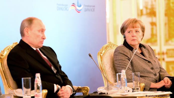 Russland Angela Merkel deutsch-russische Regierungskonsultationen