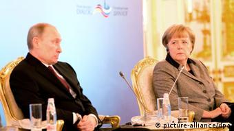 Путин и Меркель в Москве, ноябрь 2012 года