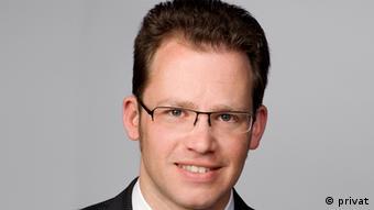 Christian Spahr vom Medienprogramm der Konrad-Adenauer-Stiftung