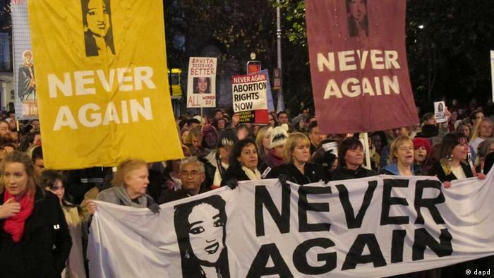 Протести після смерті жінки індійського походження восени 2012 року