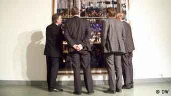 Ausstellung Die Gegenwart der Bilder Deutsche Malerei in Moskau (Foto: DW)