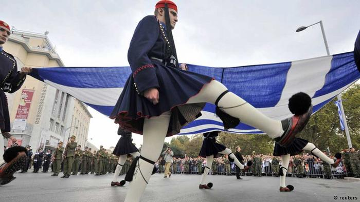 griechenland präsidialgarde stechschritt