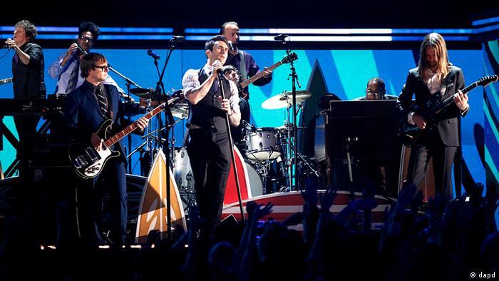 USA Musik Pop-Rock-Gruppe Maroon 5 (dapd)
