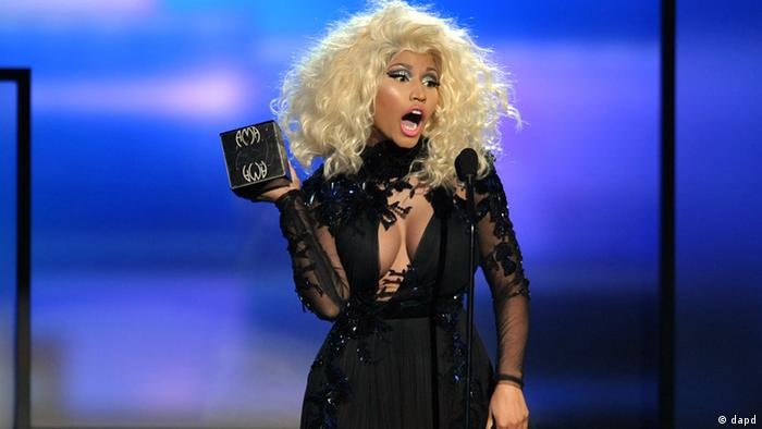 USA Musik American Music Awards Nicki Minaj in Los Angeles (dapd)