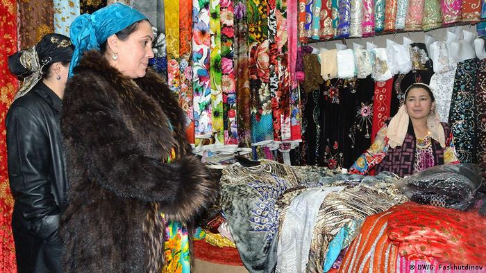 Базары в Таджикистане
