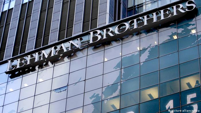Former HQ of Lehman Brothers in New York Photo: EPA/PETER FOLEY