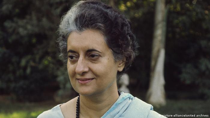 Indira Gandhi Indien Ex-Premierministerin Archibild 1971 (picture-alliance/united archives)
