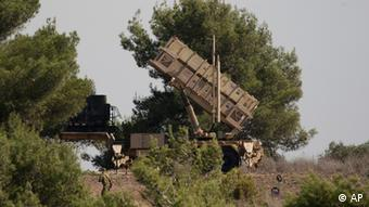 Patriot missile defense battery (photo:Ariel Schalit/AP/dapd).