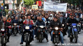 Demonstration in Athen