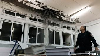 Israel Ashkelon Trümmer Zerstörung Gaza Konflikt