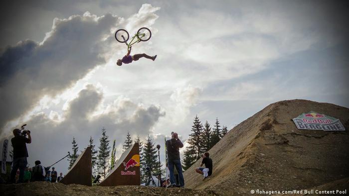 Competição de mountain-bike em Winterberg