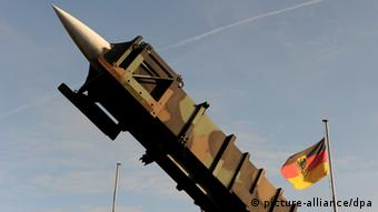 German Patriot Rockets Carsten Rehder/dpa