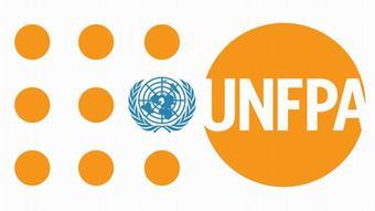 Logo UNFPA Bevölkerungsfond der Vereinten Nationen