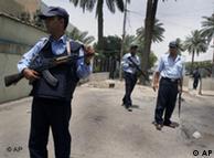 قوات الشرطة العراقية في كل مكان