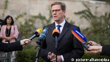 Guido Westerwelle in Tel Aviv