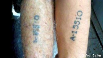 Татуювання тих, хто вижив в Освенцімі