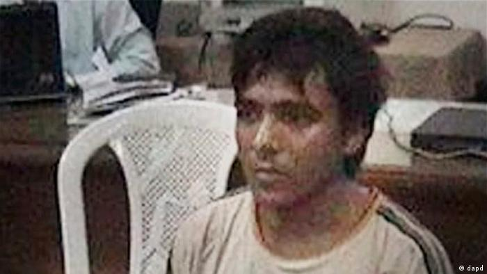 This undated file photo shows Pakistani man Mohammed Ajmal Kasab, the lone survivor of the 2008 Mumbai terror attack's 10 gunmen, in Mumbai, India. An Indian court convicted Kasab Monday, May 3, 2010, of murder and other charges for his role in the terror attacks that left 166 people dead in the heart of India's financial capital. Two Indians accused of helping plot the attacks were acquitted. (AP Photo/PTI, File) **INDIA OUT**