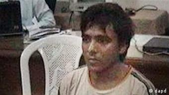 This undated file photo shows Pakistani man Mohammed Ajmal Kasab, the lone survivor of the 2008 Mumbai terror attack's 10 gunmen, in Mumbai, India. An Indian court convicted Kasab Monday, May 3, 2010, of murder and other charges for his role in the terror attacks that left 166 people dead in the heart of India's financial capital. (Photo: AP)