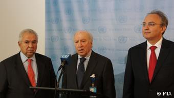 Namensstreit neue Gesprächsrunde in UN