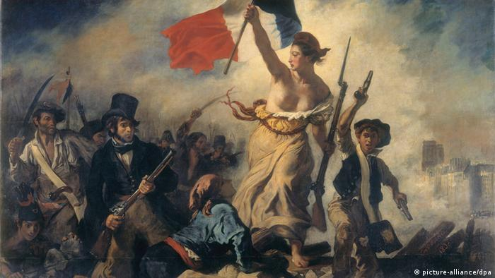 Eugène Delacroix painting : Liberty Leading the People (picture-alliance/dpa)
