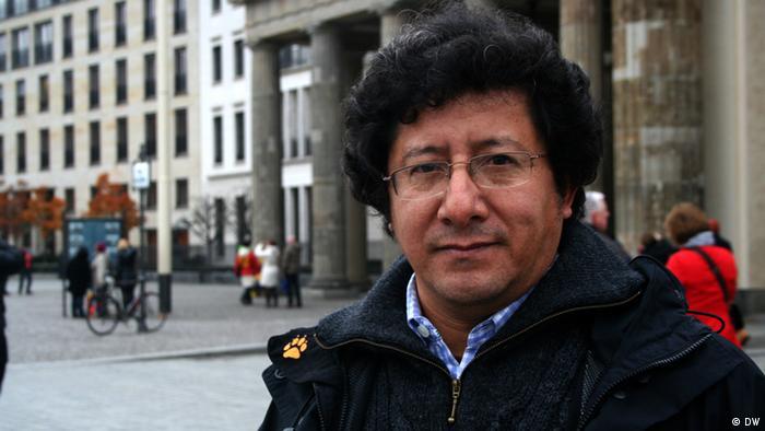 Podiumsdiskussion Journalisten aus Honduras