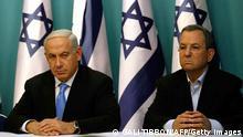 Waziri Mkuu Benjamin Netanyahu na Waziri wa Ulinzi Ehud Barak