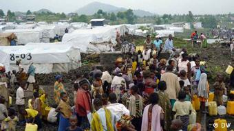 Goma refugee camp. Photo: Goma refugee camp Photo:Simone Schlindwein