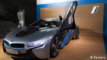 BMW i8 Concept Spyder hybrid China Autosalon