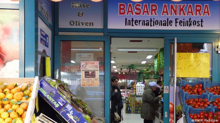 Türkischer Lebensmittelladen in Köln