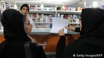 Iran Medikamentenmangel