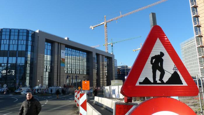 Symbolbild EU Gipfel Baustelle