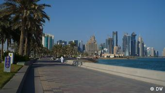 Doha skyline (photo: Brigitte Osterath)