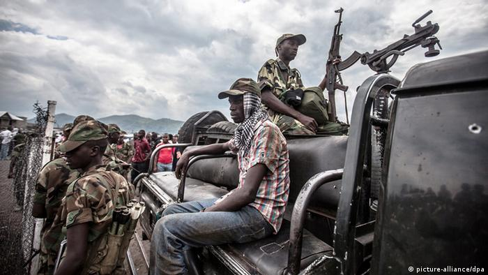 M23 rebels in Goma , DR