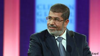 Präsident Mohammed Mursi Ägypten Clinton Global Initiative New York