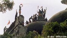 Zerstörung einer Moschee löst Religionskrieg in Indien aus