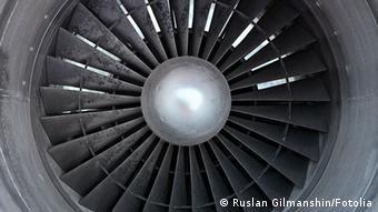 Turbine of airplane, closeup © Ruslan Gilmanshin #44694946