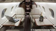 Flugbegleiter Business Jet Interior