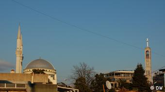 Albanien Shkodra Kirche und Moschee