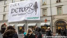 Greenpeace Aktivisten Zara