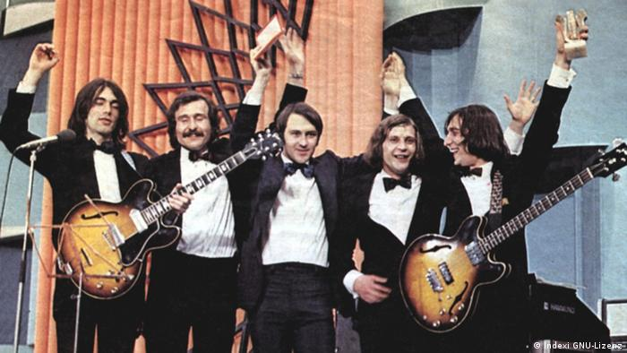Indexi Rockband Band 1973