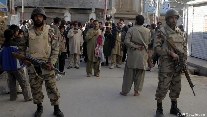 Pakistan Bombenanschlag auf Schiitenprozession