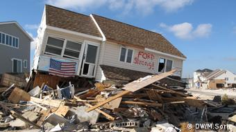 Devastation by Superstorm Sandy in new Jersey Photo: Miodrag Soric