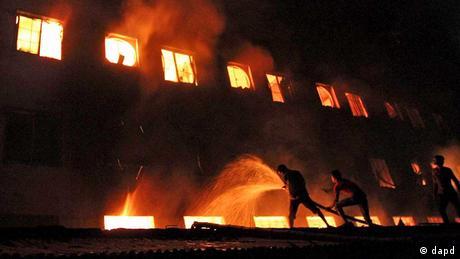 Großbrand in Bangladesch