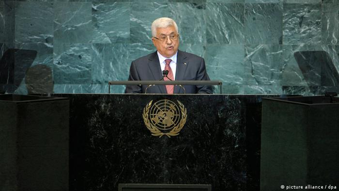 محمود عباس در مجمع عمومی سازمان ملل متحد